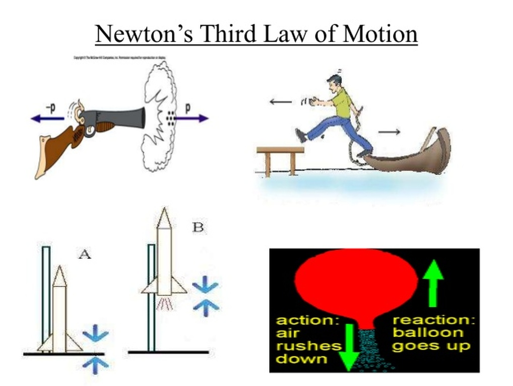 Image result for Newtons third law of motion