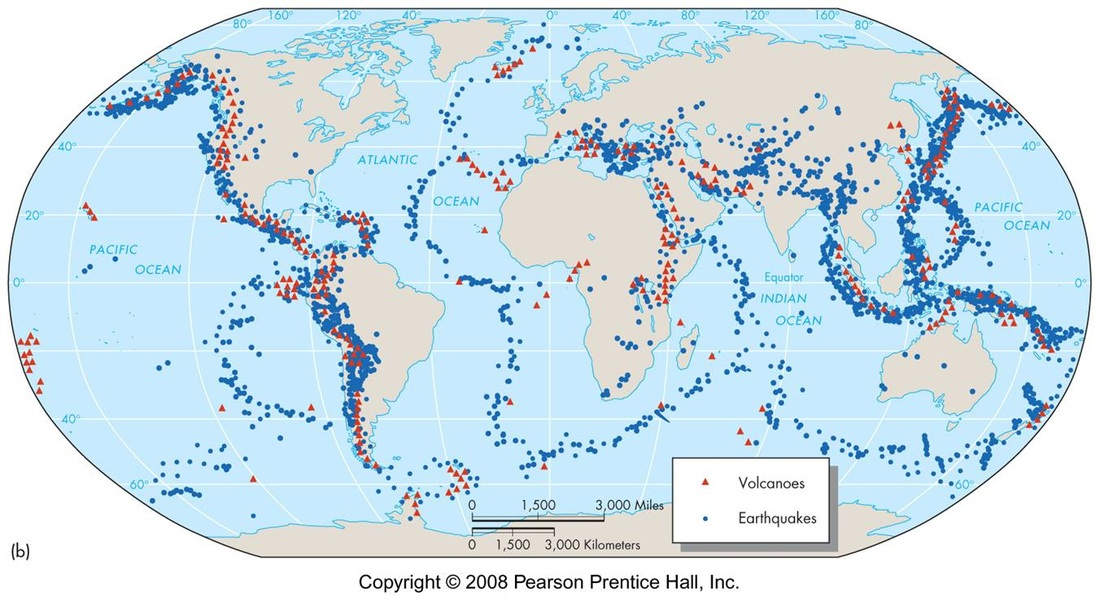plate tectonics earthquakes and volcanoes In plate tectonics, a convergent boundary, also known as a destructive plate boundary,  earthquakes and volcanoes are common near destructive boundaries,.